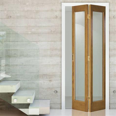 bifold doors interior interior bifold door marston oak bi fold with clear flat