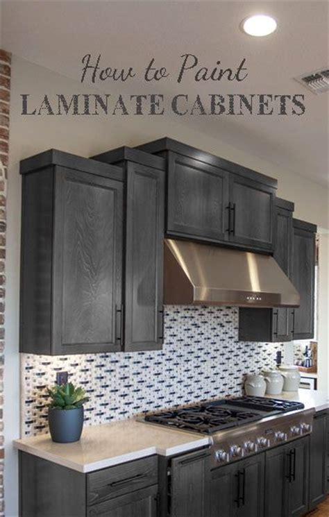 spray painting laminate kitchen cabinets 25 best ideas about painting laminate cabinets on