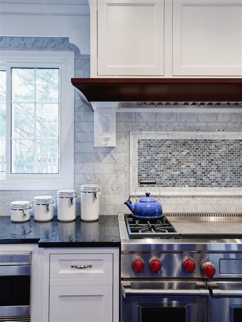 Red Ceramic Canisters For The Kitchen mosaic tile backsplash ideas pictures amp tips from hgtv
