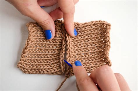 sewing knitted pieces together how to sew two knitted pieces together