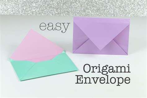origami simple envelope how to make an easy origami envelope