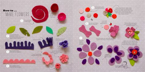 how to make from flowers make fabulous felt flowers feathers sewyeah