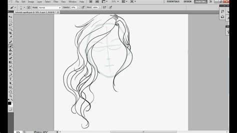 how to draw curly hair how to draw a easy anime with curly hair