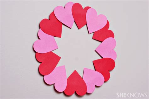 paper hearts craft 18 best photos of easy crafts for adults