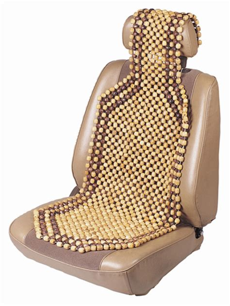 beaded seat cushion wood beaded comfort seat cushion cus17360
