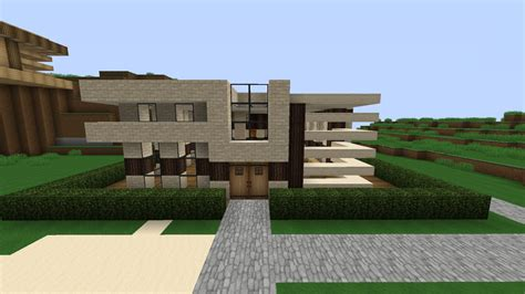 Where To Get House Blueprints small modern house minecraft project