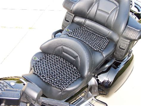 beaded motorcycle seat reviews beadrider 174 seat covers yeah they do make a difference
