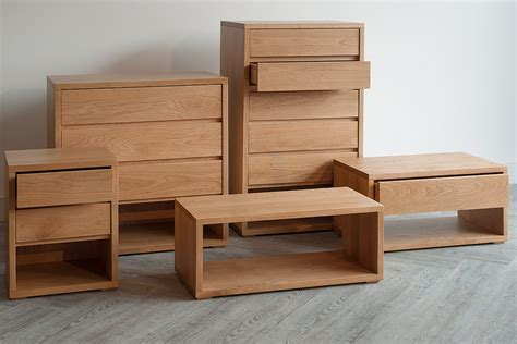 solid oak bedroom furniture uk black lotus oak low bedside drawer unit bed