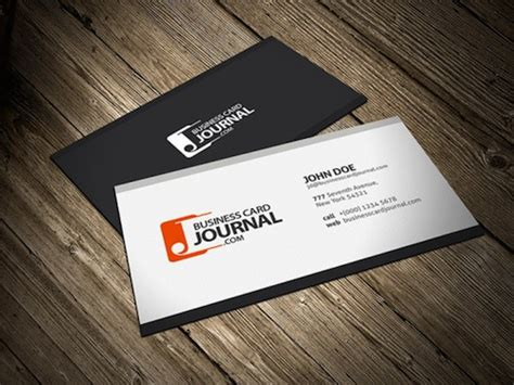 easiest way to make business cards 28 best free black and white psd business card templates