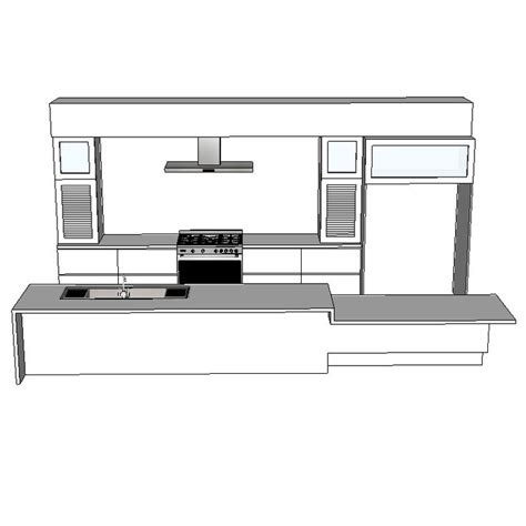 kitchen design cad sketchup interior sketchup texture sketchup model vray kitchen kitchen