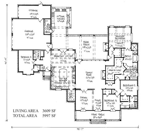 country kitchen floor plans country kitchen floor plans and photos madlonsbigbear