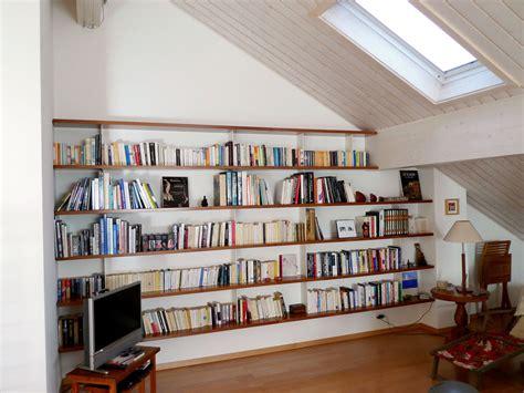 construire une bibliotheque murale maison design bahbe