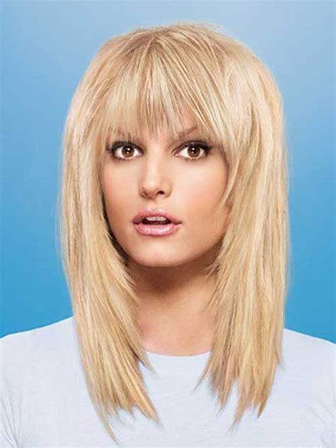 layered medium lenght hair with bangs 20 best medium hair cuts with bangs hairstyles