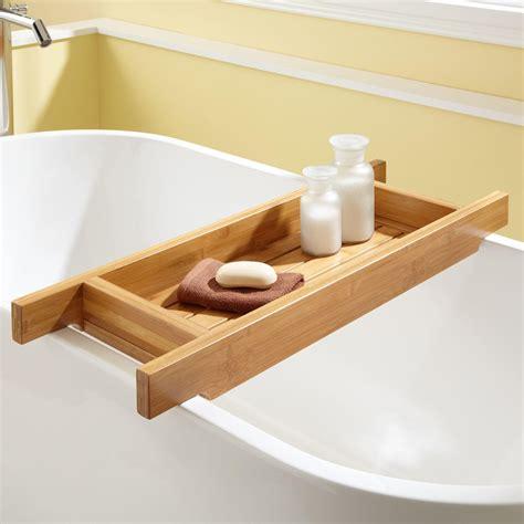 bath shower caddy 33 quot hancock bamboo tub caddy bathroom
