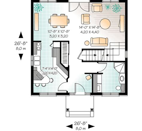 compact house design compact two story house plan 21004dr architectural