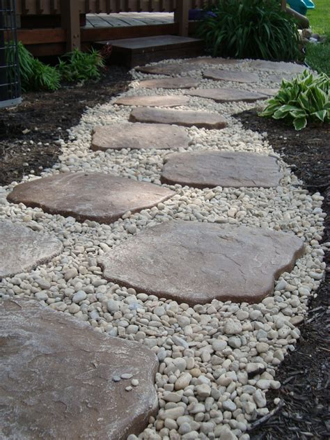 landscape rocks landscaping i did diy use edging to contain small river