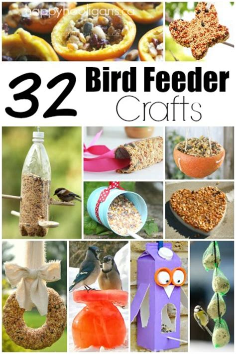 easy bird feeder crafts for happy hooligans crafts and activities for toddlers and