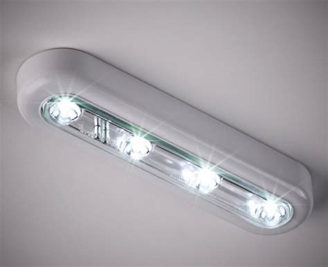 led lights battery cool white led touch operated battery cupboard light led