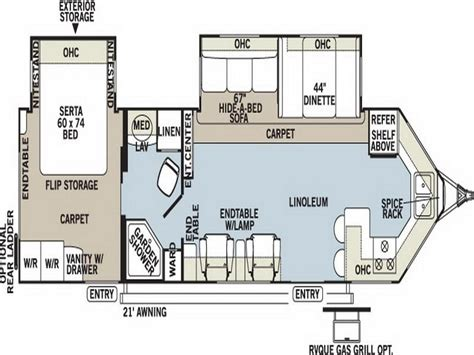 travel trailers floor plans planning ideas travel trailer floor plans light travel