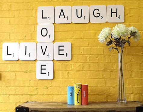 scrabble wall tiles live laugh scrabble wall tiles by copperdot