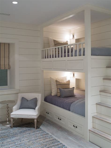 built in beds built in bunk bed ideas style with nautical