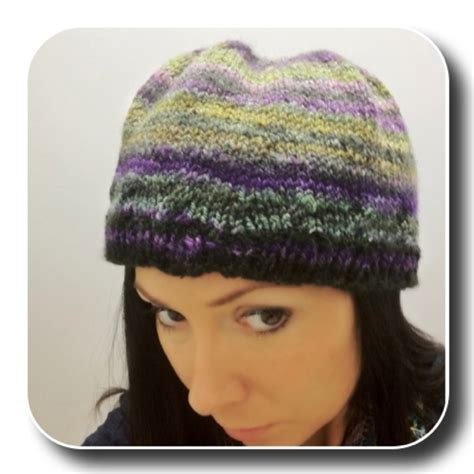 past tense of knit comfy headband hat knitted pattern expression fiber