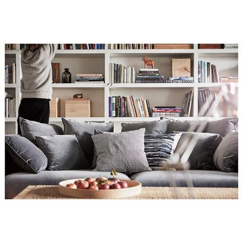 ikea stockholm sofa stockholm 2017 three seat sofa sandbacka grey ikea