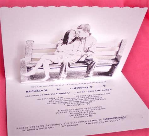 how to make pop up invitation cards pop up wedding invitations weddingbee photo gallery