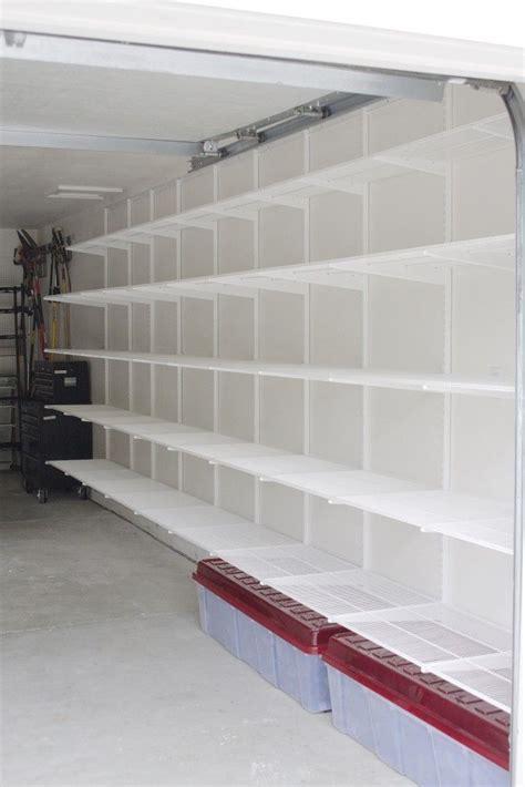 storage shelves for garage best 25 garage storage shelves ideas on