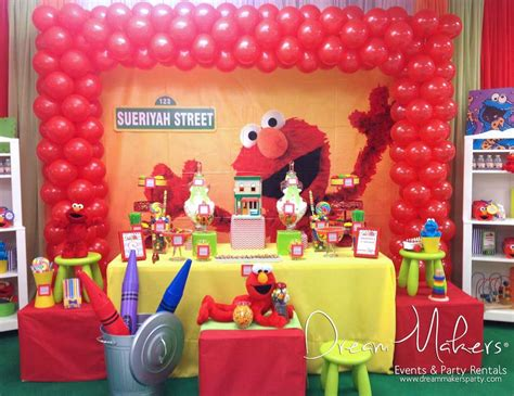 elmo decorations the gallery for gt elmo 1st birthday decorations