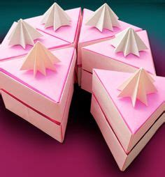 how to make a origami cake 1000 images about origami on cake slices