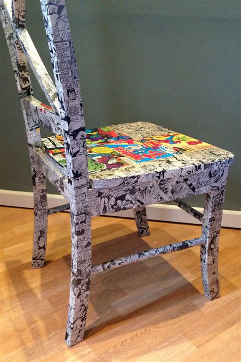 decoupage a chair decoupage chairs ethos upcycling