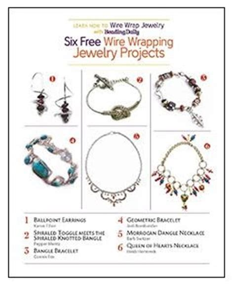 jewelry daily free projects beading daily s new 6 free wire jewelry projects to