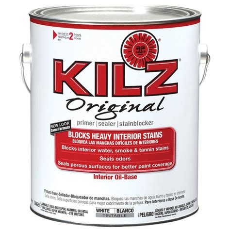 home depot paint no primer kilz original based primer 1 gal walmart