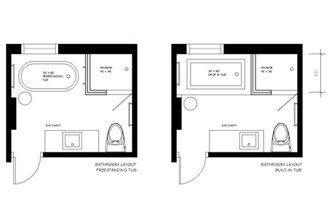 7 x 10 bathroom floor plans creed before after e design bathroom project