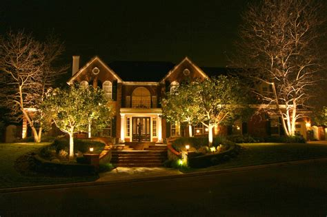 electric landscape lighting image gallery led lawn lighting
