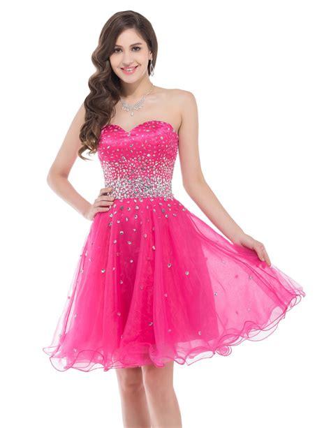 beaded homecoming dresses aliexpress buy cheap beaded knee length organza