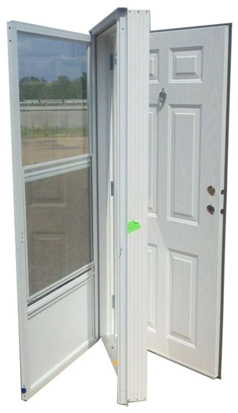 mobile home exterior doors 32x72 steel solid door with peephole rh for mobile home