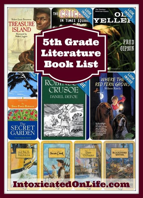 5th grade picture books 5th grade reading book list rachael edwards