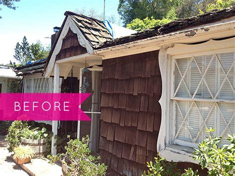 before and after cottage makeover before after a makeover design sponge