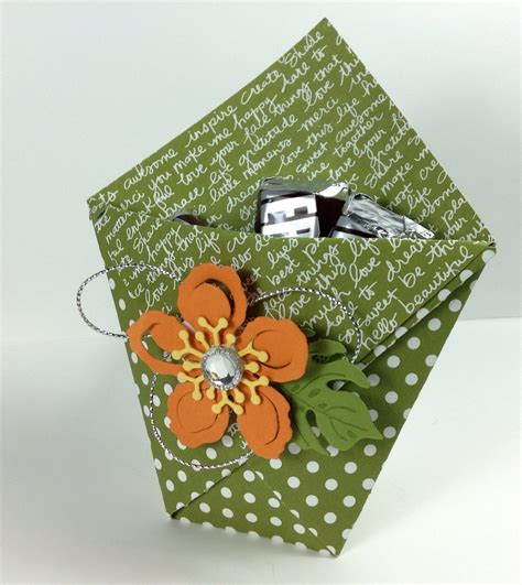 origami paper pouch paper stack idea 4 origami gift pouches