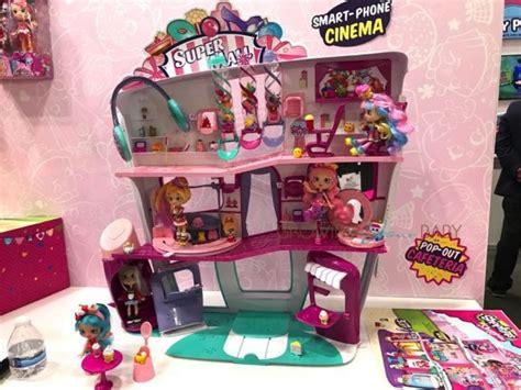 toy fair 2017 shopkins super mall new cutie cars