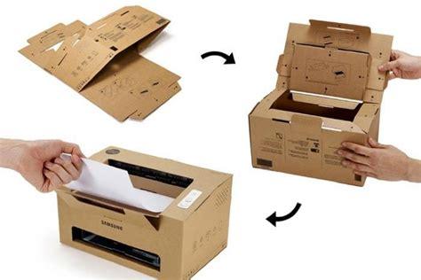 Origami Samsung Foldable Cardboard Laser Printer