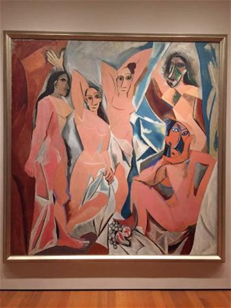 picasso paintings in moma pablo picasso les demoiselles d avignon picture of the
