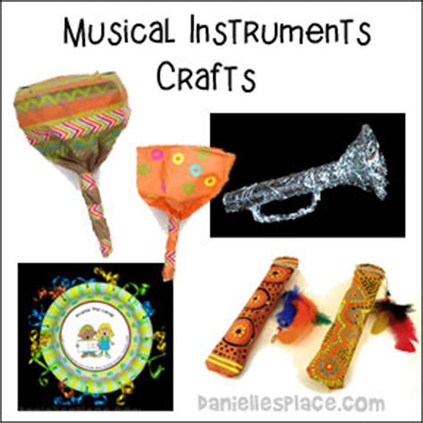 musical instrument craft for cheap and easy crafts can make from danielle s place