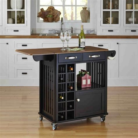 kitchen island carts on wheels black small kitchen island cart with wine storage and wheels kitchen space saving with small