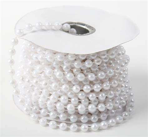 pearling beading white fused string pearl pearl spools basic