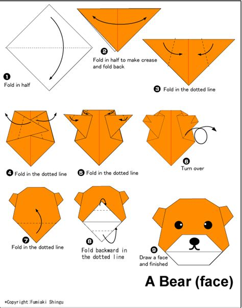 simple animal origami easy origami paper origami guide