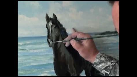 bob ross painting horses igor sacharow screencasts running auf den wellen