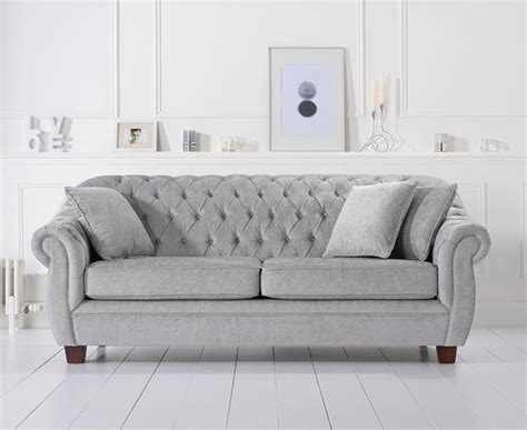 liv chesterfield grey plush loungeliving co uk